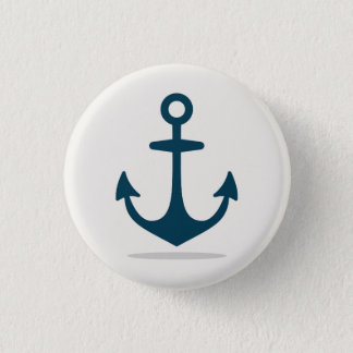 Anchor Small, 1¼ Inch Round Button