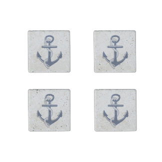 Anchor Stone Magnet