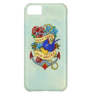 Anchor, Swallow and Roses iPhone 5C Cover