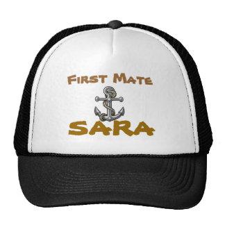 anchor-tattoo, First Mate, Sara Cap