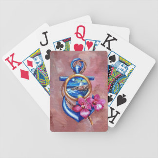 Anchor Tattoo Playing Cards