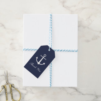 Anchor Thank You Gift Tags