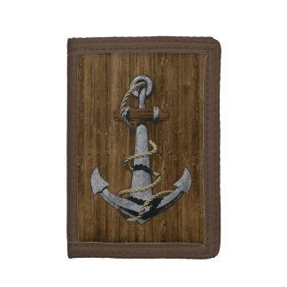 Anchor Tri-fold Wallet
