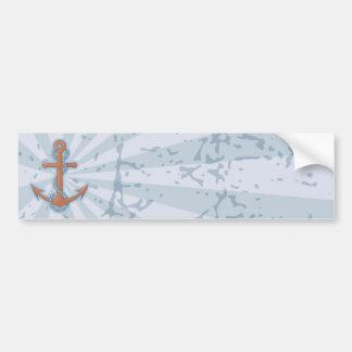 Anchor with Chain Bumper Sticker