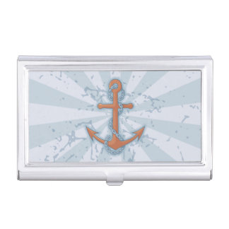 Anchor with Chain Business Card Cases