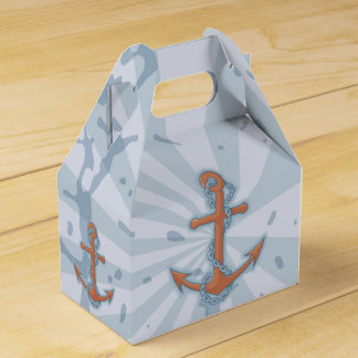 Anchor with Chain Wedding Favour Box