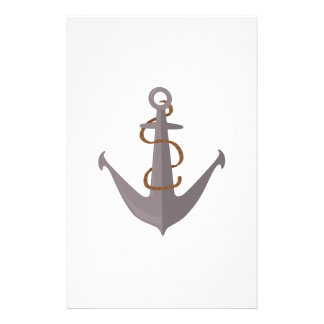 Anchor with Rope Personalised Stationery