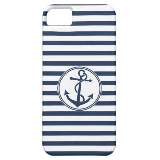 Anchor with Stripes Barely There iPhone 5 Case
