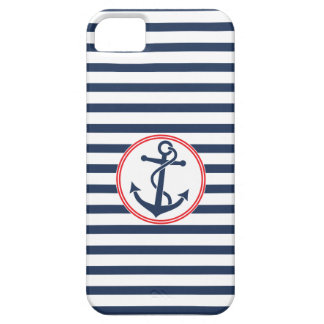 Anchor with Stripes iPhone 5 Cover