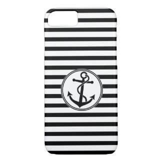 Anchor with Stripes iPhone 7 Case