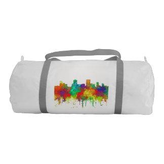 Anchorage Alaska Skyline-SG Gym Duffel Bag
