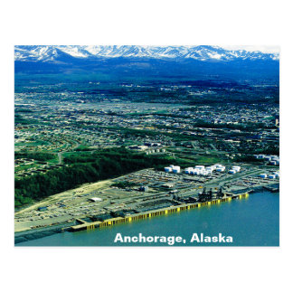 Anchorage, Alaska View Postcard