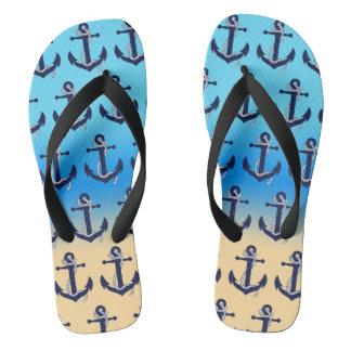 Anchored Flip Flops