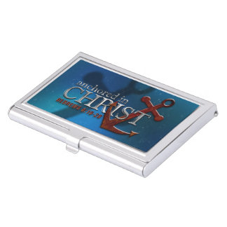 Anchored in Christ Business Card Cases