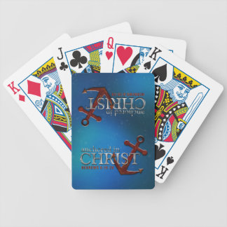Anchored in Christ Playing Cards