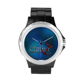 Anchored in Christ Wrist Watch