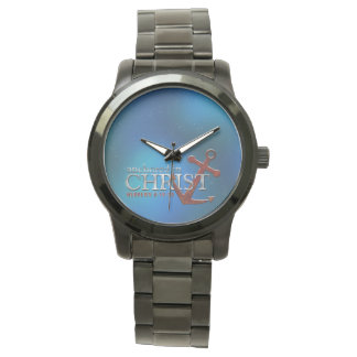 Anchored in Christ Wristwatches