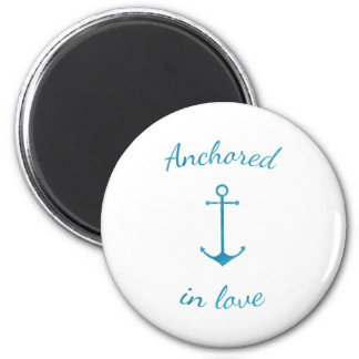 Anchored in love magnet