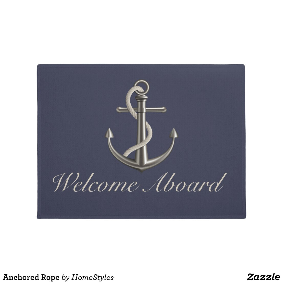 Anchored Rope Doormat