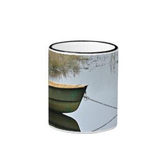 Anchored Rowboat Ringer Mug