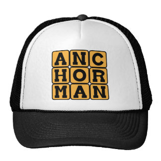 Anchorman, TV Personality Cap