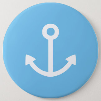 Anchors Away! 6 Cm Round Badge