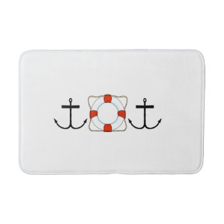 Anchors Away Bath Mat