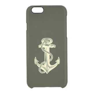 Anchors Away Clear iPhone 6/6S Case