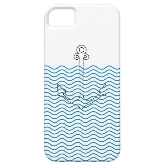 Anchor's Away! Girly Nautical Retro iPhone 5 Cover