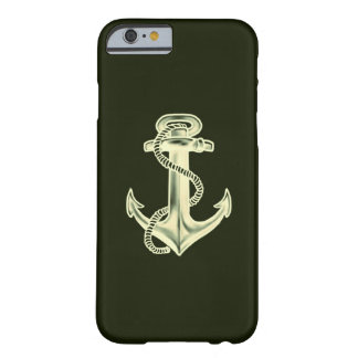 Anchors Away (Green) Barely There iPhone 6 Case