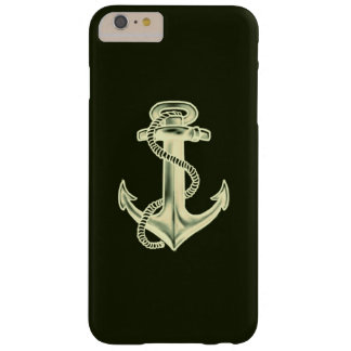 Anchors Away (Green) Barely There iPhone 6 Plus Case