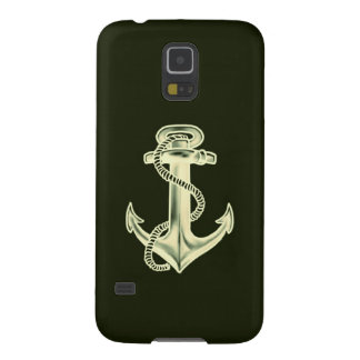 Anchors Away (Green) Galaxy S5 Covers
