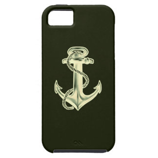 Anchors Away (Green) iPhone 5 Cases