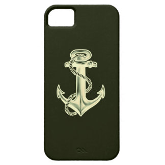 Anchors Away (Green) iPhone 5 Covers