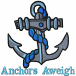 Anchors Aweigh Embroidered T shirts