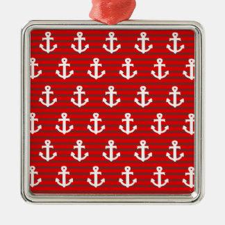 Anchors Christmas Ornament