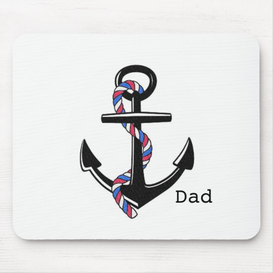 Anchor's_Dad-Template_Home-Work-Giftware Mouse Pad