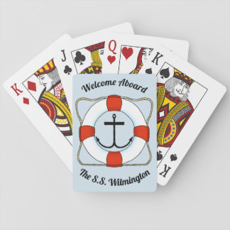 Anchors & Life Saver Playing Cards