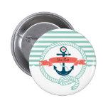 Anchors Nautical Button