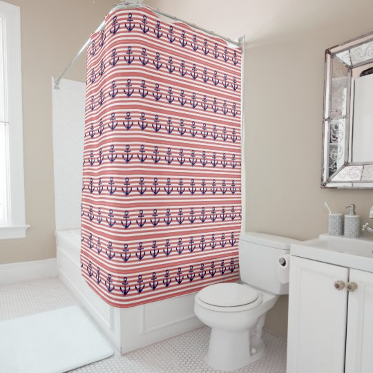Anchors Shower Curtain