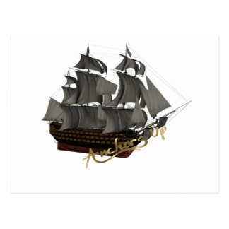 Anchors Up Post Cards