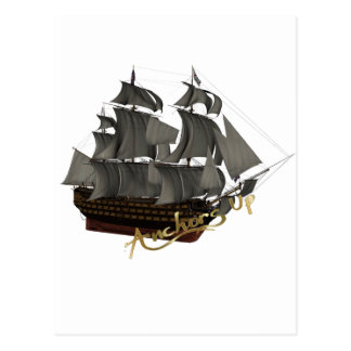 Anchors Up Postcards