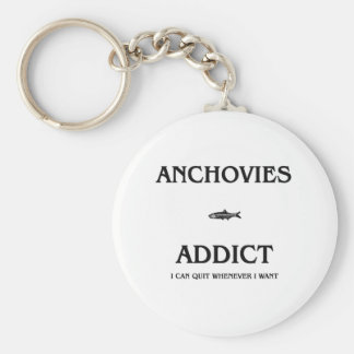 Anchovies Addict Key Chains