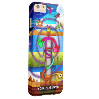 Ancient Alien Astronaut Angel Barely There iPhone 6 Plus Case