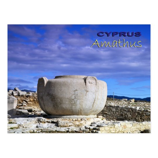Ancient Anathus Cyprus Postcard