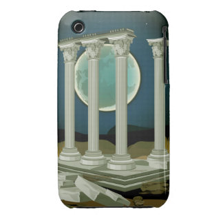 Ancient Antique Greek Parthenon Ruins iPhone 3 iPhone 3 Covers