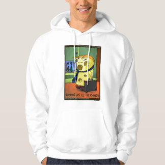 Ancient Art Of Tie Cheese Funny Cartoon Hoodie by