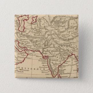 Ancient Asia 15 Cm Square Badge