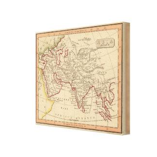 Ancient Asia Canvas Print