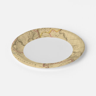 Ancient Asia Paper Plate